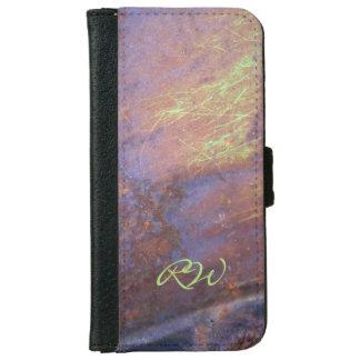 Rusty Metal Tin Roof iPhone 6 Wallet Case