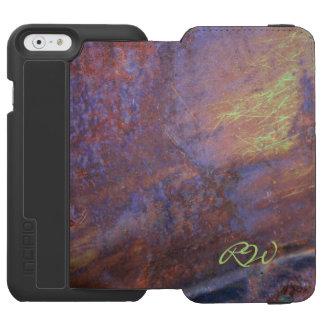 Rusty Metal Tin Roof Incipio Watson™ iPhone 6 Wallet Case