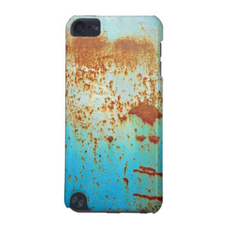 Rusty Metal With Blue Scratched Paint iPod Touch 5G Cases