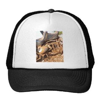 Rusty Motorbike Mesh Hat