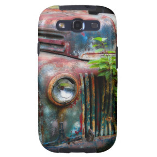 Rusty Old Antique Truck Samsung Galaxy S3 Covers