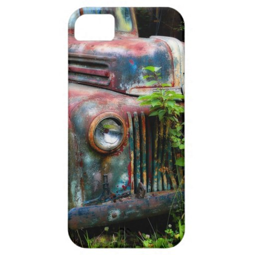 Rusty Old Antique Truck iPhone 5 Cover