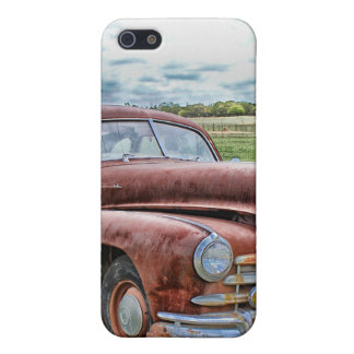 Rusty Old Classic Car Vintage Automobile Cover For iPhone 5/5S