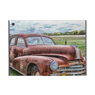 Rusty Old Classic Car Vintage Automobile iPad Mini Cases