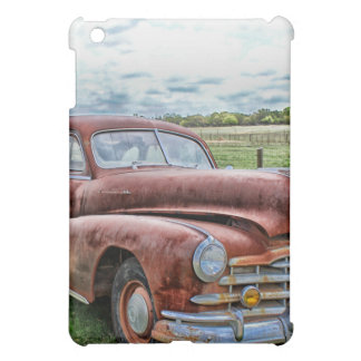Rusty Old Classic Car Vintage Automobile iPad Mini Case