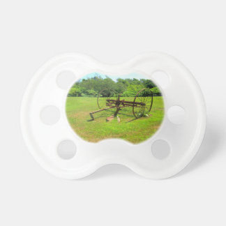 Rusty Old Farm Equipment Pacifier