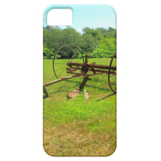 Rusty Old Farm Equipment iPhone 5 Cover