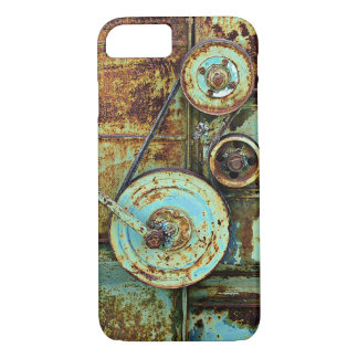Rusty Old Machine Vintage iPhone 7 case