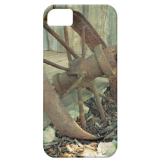 Rusty Old Wheel Barely There iPhone 5 Case
