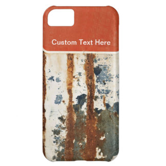 Rusty Plate iPhone 5C Cases