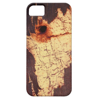 Rusty Plate With Bullet Hole iPhone 5 Cover