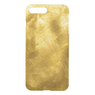 Rusty Pure Gold Texture Pattern iPhone 7 Plus Case