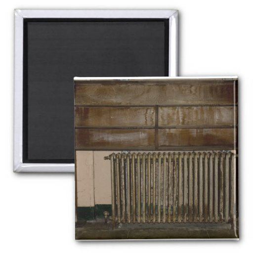 Rusty Radiator (Room Heater) at Alcatraz Prison Refrigerator Magnet