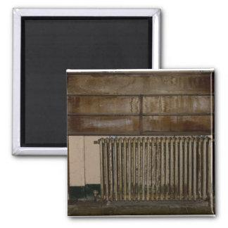 Rusty Radiator (Room Heater) at Alcatraz Prison Square Magnet