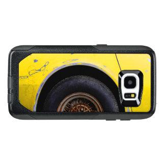 Rusty Roadmaster Tire, Peeling Yellow Painted Car OtterBox Samsung Galaxy S7 Edge Case