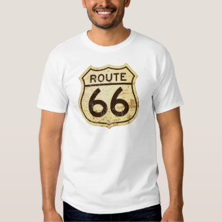Rusty Route 66 T Shirt