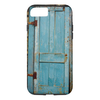 Rusty Rustic Weathered Door Retro Old iPhone 7 Case