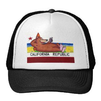 Rusty s California Bear Flag Mesh Hat