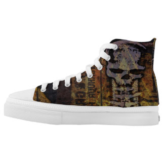 rusty skull shoes