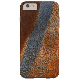 Rusty stained corroded vintage metal surface case