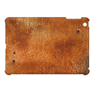 Rusty stained corroded vintage metal surface case iPad mini case