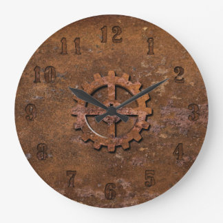 Rusty Steampunk Clock