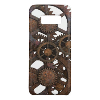 Rusty Steampunk Metal Gears Case-Mate Samsung Galaxy S8 Case
