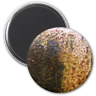 Rusty Texture 6 Cm Round Magnet