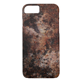 RUSTY TEXTURE ABSTRACT RAT ART iPhone 7 HARD CASE