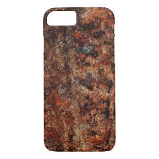 RUSTY TEXTURE RAT ART iPhone 7 HARD CASE