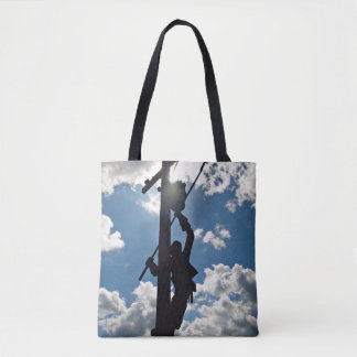 Rusty the Lineman Tote Bag