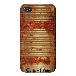 Rusty Tin Can iPhone 4 Covers