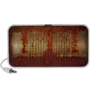 Rusty Tin Food Can PC Speakers