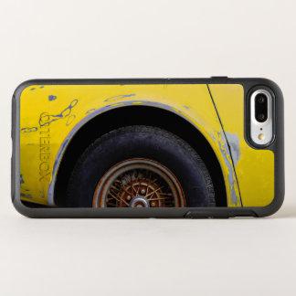 Rusty Tire, Peeling Yellow Painted Car OtterBox Symmetry iPhone 8 Plus/7 Plus Case