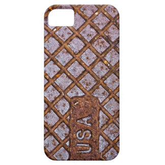 Rusty USA Plate iPhone 5 Case
