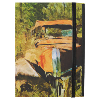 """Rusty Vintage Pick Up Truck Abstract iPad Pro 12.9"""" Case"""