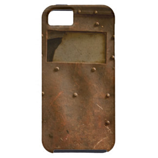 Rusty welding helmet iPhone 5 cases