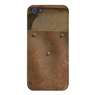 Rusty welding helmet iPhone 5 covers