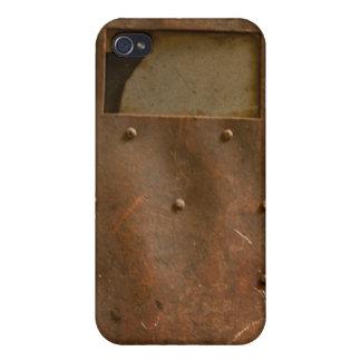 Rusty welding helmet cover for iPhone 4