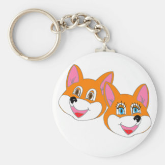 "Rustyfoxes basic ""colour customisable"" Key Chain"