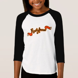 "Rustyfoxes Girl's Raglan Shirt ""customizable"""
