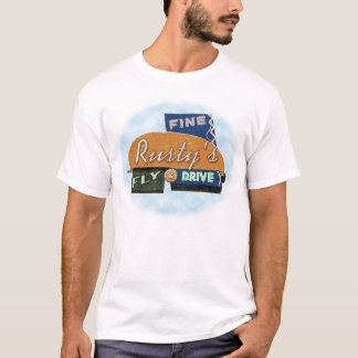 Rusty's Fly & Drive - large T-Shirt