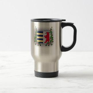 Rusyn Crest Coffee Stainless Steel Mug