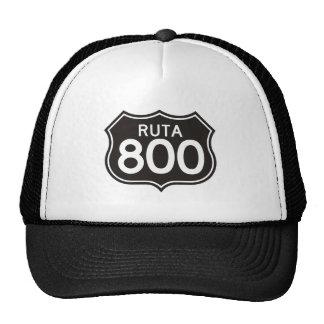 Ruta 800 official merchandising cap