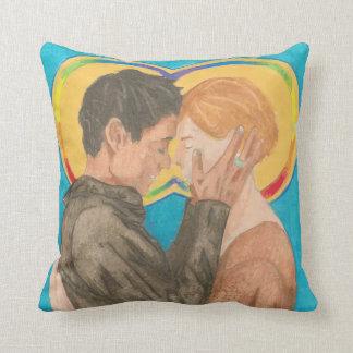 Ruth and Naomi Throw Pillow