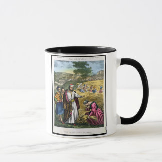 Ruth in the Field of Boaz, from a bible printed by Mug