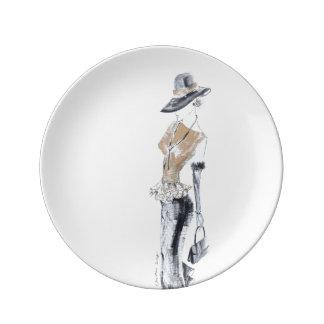 Ruth no.2 porcelain plate
