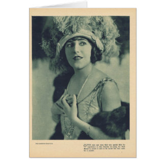 Ruth Roland 1923 portrait Card