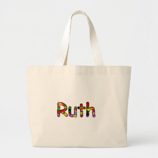 Ruth white tote bag