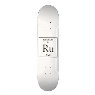 Ruthenium 21.3 Cm Mini Skateboard Deck